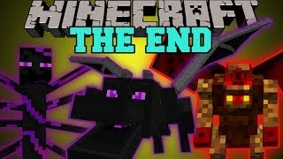 Minecraft: THE END MOD (HARDCORE BOSSES, DUNGEONS,&EPIC ITEMS!) Mod Showcase