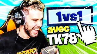 1 VS 1 CONTRE THEKAIRI78 SUR LE TERRAIN DE JEUX FORTNITE BATTLE ROYALE !!!