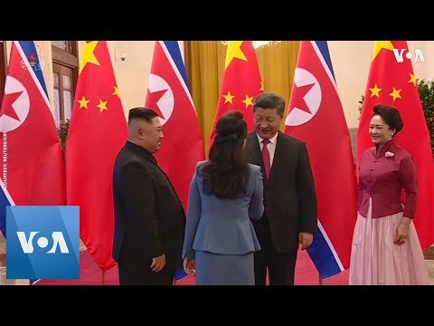 North Korea's Kim Jong Un Meets With China's Xi Jinping for the Fourth Time