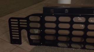 Unboxing and installation of my Springtail Solutions Cargo Barrier to keep my dog in the back of my 2012 Jeep Wrangler Rubicon. All metal construction and ve...