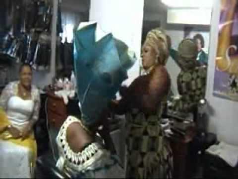 KOKOROKOO - Ghana In Toronto - Howto Tie Your Gele in 7 mins
