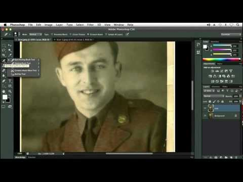 Using Content Aware With The Patch Tool - Adobe Photoshop CS6 Tutorial