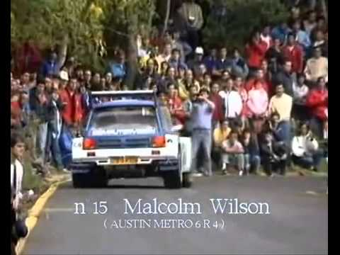 rally di sanremo 1986 - highlights