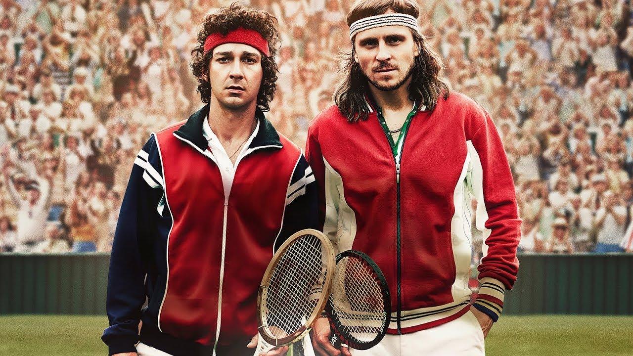 Shia LaBeouf & Sverrir Gudnason Shine as Legendary Tennis Rivals in 'Borg/McEnroe' (Trailer) with Stellan Skarsgård