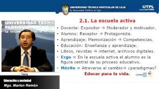 UTPL EDUCACIÓN Y SOCIEDAD [(MAESTRÍA EN GERENCIA Y LIDERAZGO EDUCACIONAL)]