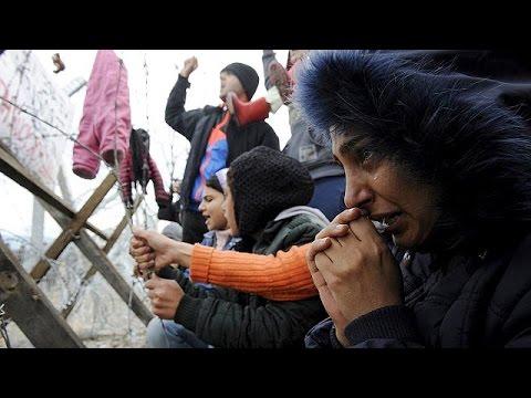 Εγκλωβισμένοι στην Ειδομένη εκατοντάδες μετανάστες