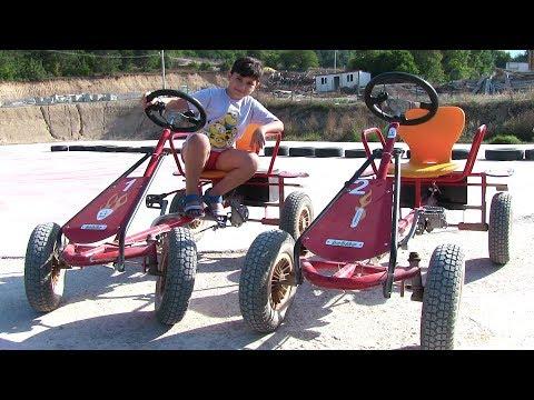 Akülü Go Kart Arabasını Denedik Vlog