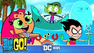 Video Teen Titans Go! | Beach Day! | DC Kids MP3, 3GP, MP4, WEBM, AVI, FLV Oktober 2018
