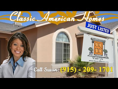 Classic American Homes – El Paso Home For Sale In Northeast
