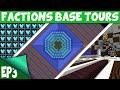 Minecraft FACTIONS Base Tours EP3 RICHEST FACTION SINCE RESET?