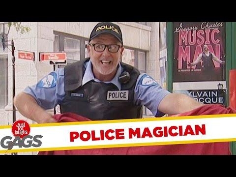 Poante cu poliţişti (video)
