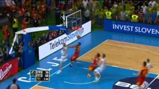 Dunk of the Game G.Dragic SLO-ESP EuroBasket 2013