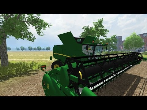 FARMING SIMULATOR 2013 JOHN DEERE S690i By BIG BOSS MODDING