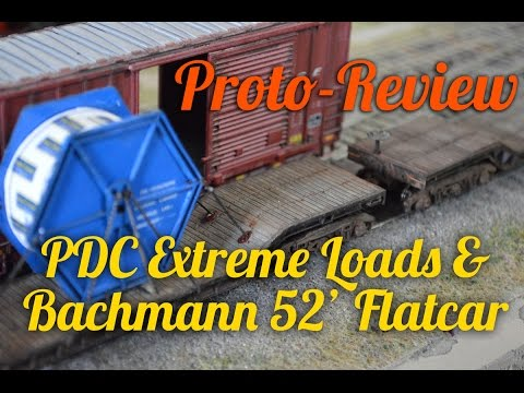 Proto-Review: Bachmann flatcar with separate load