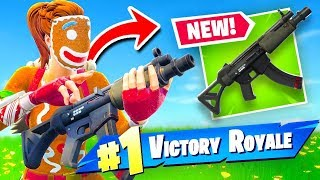Is The *NEW* SMG Any Good? Fortnite Battle Royale! (Gameplay)