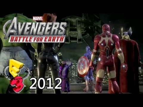 RajmanGamingHD - Remember to select 720p HD Debut trailer of The Avengers: Battle for Earth from E3 2012. Platforms: Xbox 360 & Wii U.