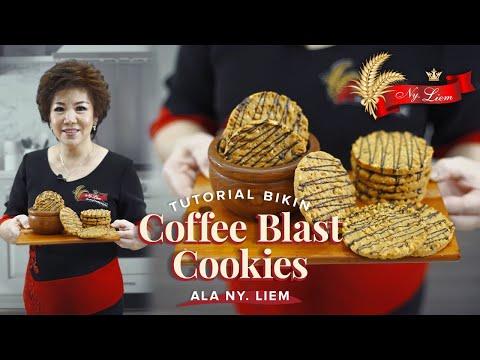 COOKIES RENYAH ANTI NGANTUK! Bikin Coffee Blast Cookies ala Ny. Liem