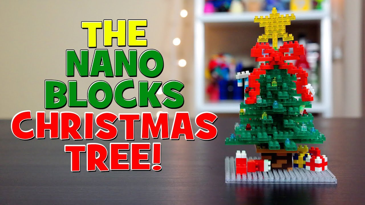 Nanoblock Christmas Tree! Speed Build