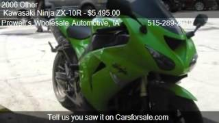 8. 2006 Other  Kawasaki Ninja ZX-10R  - for sale in Des Moines,