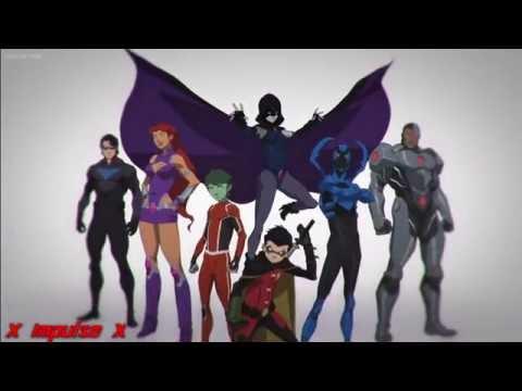Teen Titans Vs The Justice League - Undone