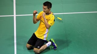 Video Lee Chong Wei broken his racket strings but managed to win the point MP3, 3GP, MP4, WEBM, AVI, FLV Oktober 2018
