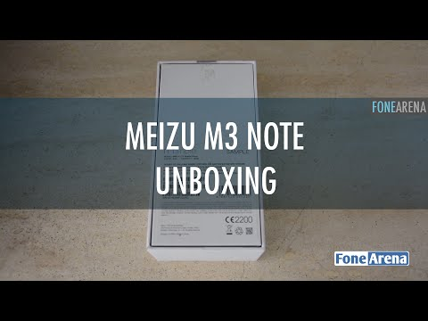 Meizu m3 note Unboxing