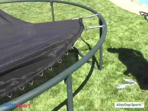 JumpSport Trampoline Mat Installation