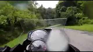 Lenggong Malaysia  City new picture : BMW F700GS : Route A6 (Batu Kurau - Lenggong) Malaysia