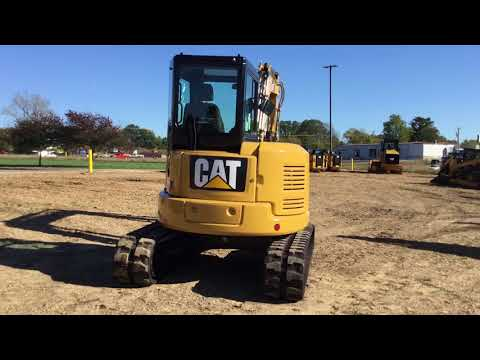 CATERPILLAR PELLES SUR CHAINES 305.5E2LC equipment video JDLz9rBYBy4