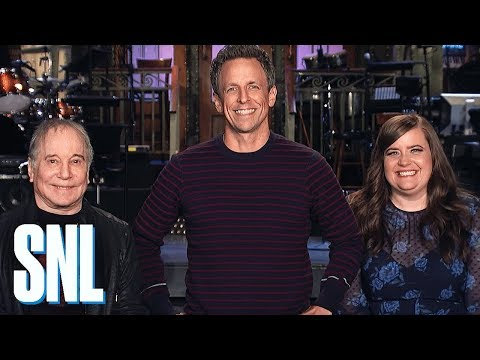 Aidy Bryant is Really Excited for Seth Meyers to Host - SNL