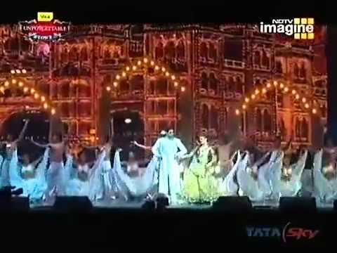 Aishwarya Rai and Abhishek Unforgettable Performance 2008