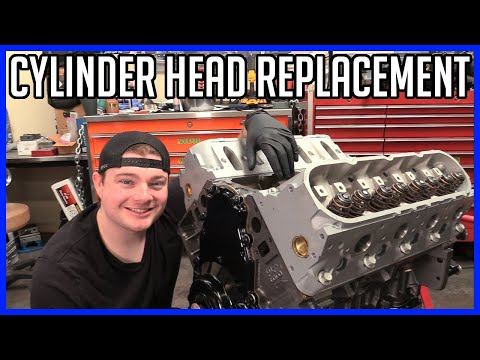 How to Build a 5.3L LS LM7 V8 - Part 8: Replacing the Cylinder Heads