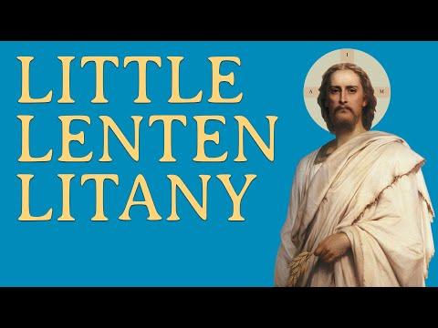 Little Lenten Litany