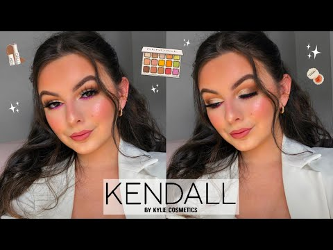 KENDALL X KYLIE COSMETICS COLLECTION!   Tutorial + Review!   itsmartinaxo