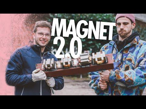 Mega Magnet aus Mikrowelle bauen | Kliemannsland