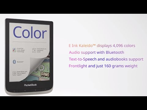 PocketBook Color – your next page is in color!