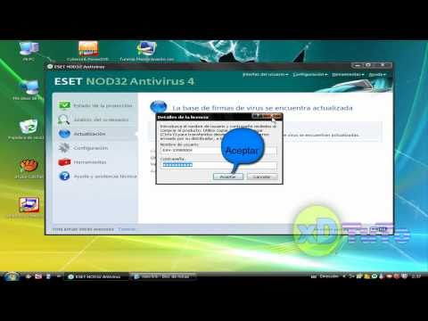 usuario y contraseña de ESET Smart Security 4 y 5 TNod-1.4.2.0-beta4