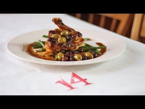 Bistro 14 | Rich Vaughan Roast Chicken & Olives | Beyond The Beach Aug. 2013