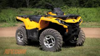 4. 2014 Can-Am Outlander 500 Review