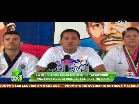 La Federación Nicaragüense de Taekwondo viaja hoy a Costa Rica para el Open
