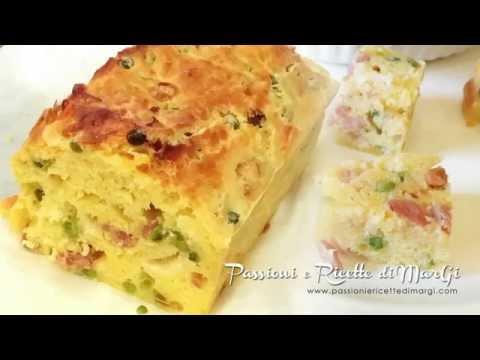 plumcake salato - ricetta