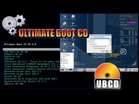 Ultimate Boot CD on a USB Flash Drive 2018 (Tutorial and a Sneak Peak Inside)