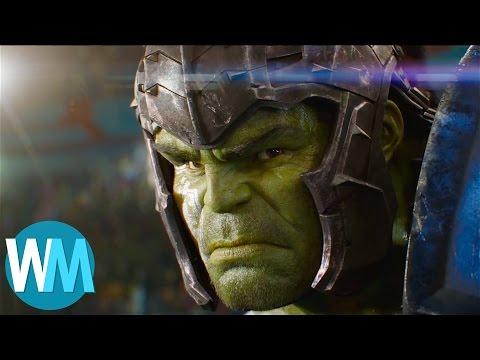 Thor: Ragnarok Trailer! Gladiator HULK! Broken Mjolnir! Loki Returns! (видео)