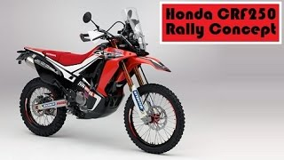 7. Honda CRF250 Rally Concept, set to debut a new off-road model in Japan