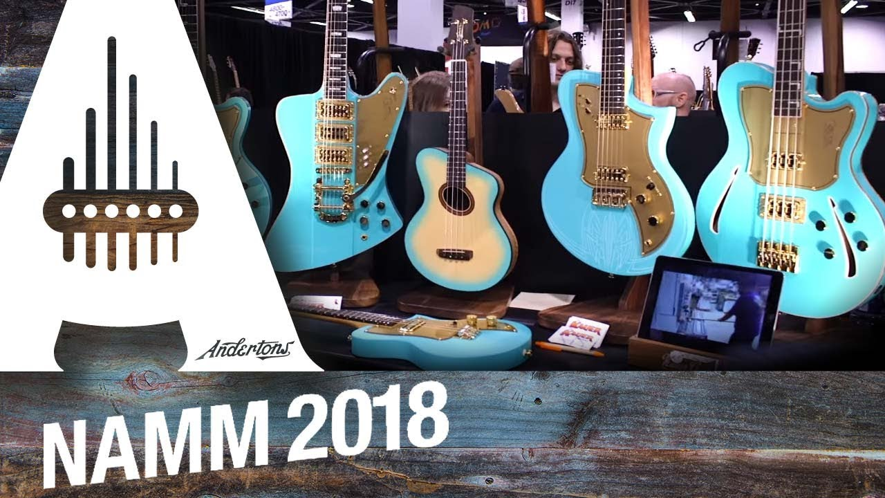 The Boutique Guitar Stand! – NAMM 2018