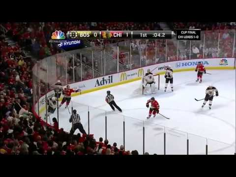 NHL Stanley Cup Finals 2013 - Chicago Blackhawks vs Boston Bruins [Game 1 and 2]