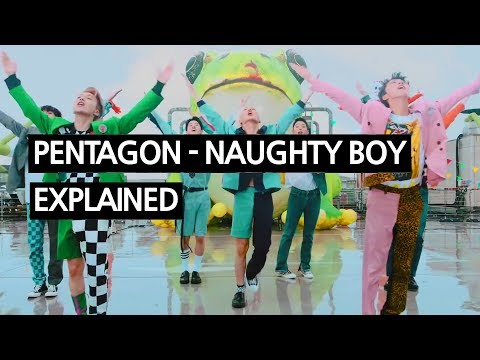 Video PENTAGON - Naughty boy(청개구리) Explained by a Korean download in MP3, 3GP, MP4, WEBM, AVI, FLV January 2017
