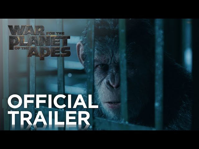 War for the Planet of the Apes Official Trailer