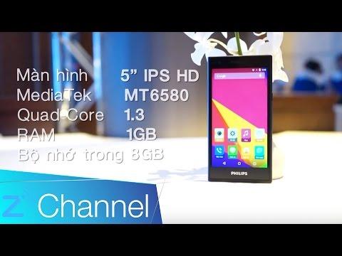 Philips S358: Smartphone selfie 8MP, pin 'trâu', giá dưới 3 triệu