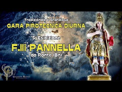 ADELFIA (Ba) - SAN TRIFONE 2016 - F.lli PANNELLA da Ponte (Bn) - Diurno
